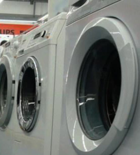 Using power line communication in white goods