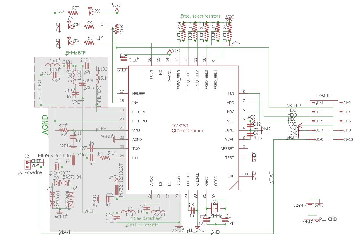 dmx250 typical schematic